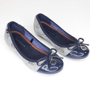 Tommy Hilfiger Girls Size 13 Ballet Flat Shoes
